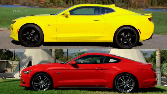 雪佛兰野马报价_2016雪佛兰科迈罗和2016福特野马的比较