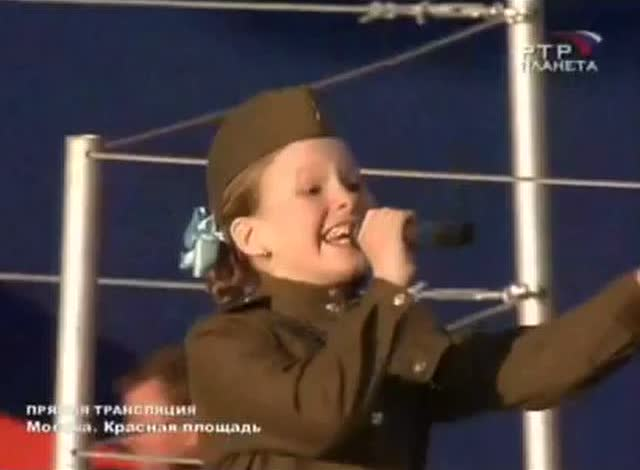 俄罗斯萌妹版本《喀秋莎》