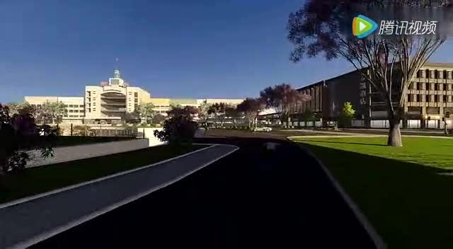 衡水市车站南北广场景观整治方案规划设计视频曝光