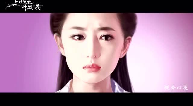 手绘版杨洋刘亦菲三生三世十里桃花,画面和配音都美到不像话!