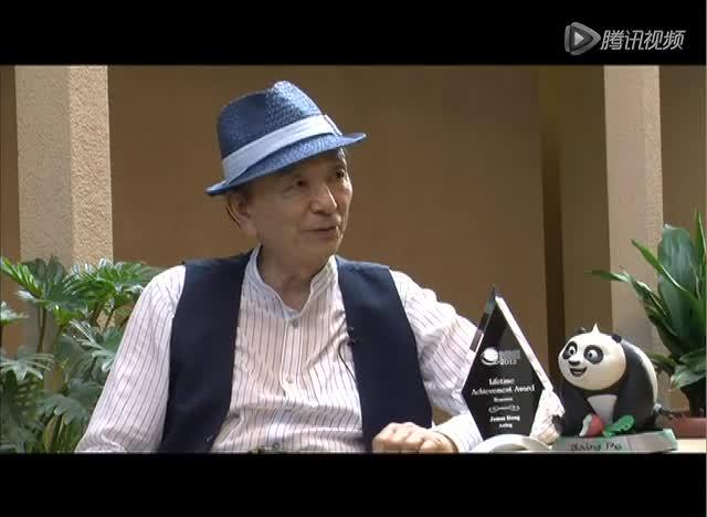 好莱坞华裔演员吴汉章专访 揭秘《功夫熊猫》鸭子爸爸的配音截图