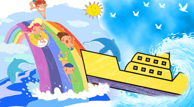 渔船怎么画幼儿简笔画 - v视宝贝 - 腾讯视频