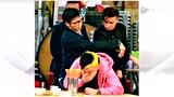 """谢霆锋未受与周迅绯闻影响 《赌城风云》片场发呆卖萌大秀""""麒麟臂"""""""