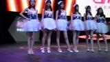 直击2017CJ:让人眼花缭乱的长腿SG美女墙