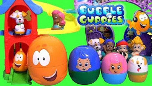 小花蛋蛋玩具 孔雀泡泡鱼游乐场