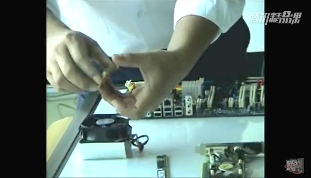 电脑组装与维护视频教程:装机 BIOS 系统安装 Ghost
