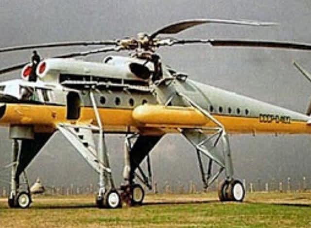 超大型直升飞机能力太强