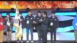 2014F1国家对抗赛 团体赛 中日韩选手团出场