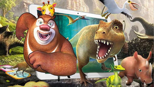 熊出没熊大魔法动物园探险记 恐龙世界 第4集