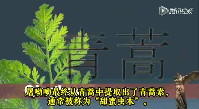 国外媒体采访屠呦呦详述发现青蒿素的艰辛历程截图