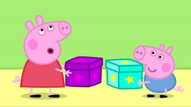 小猪佩奇和猪爸爸种树1搞人脸图片怪表情包图片