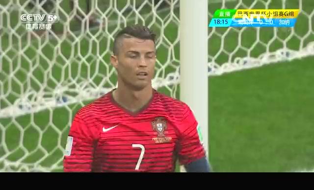 【葡萄牙集锦】葡萄牙2-1加纳 C罗破门难救主截图