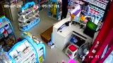 仪陇新政五星花园精品母婴生活馆遭遇小偷监控视频全程记录