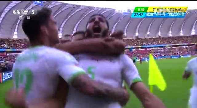 韩国2-4阿尔及利亚 后防失误导致全线崩盘截图