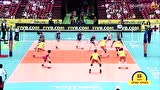【全场回放】2017女排大冠军杯:中国3-2巴西