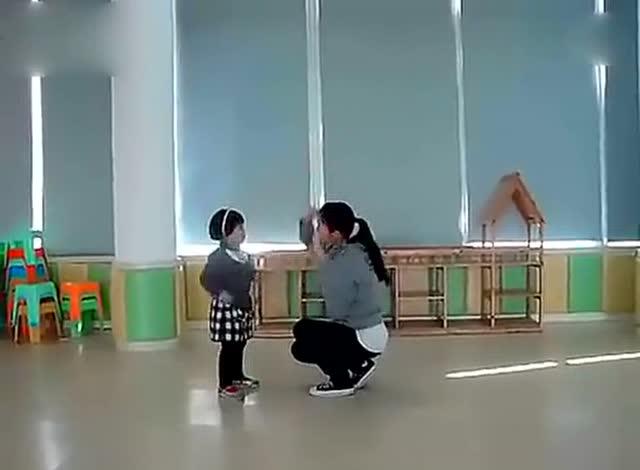 亲子舞蹈 妈妈宝贝