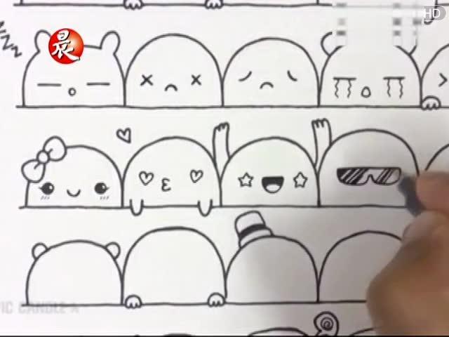 十二生肖简笔画:蛇