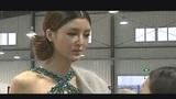 90后嫩模曹阳嘲笑李颖芝假胸:天生的和硅胶没法比