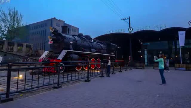 北京798艺术区延时摄影