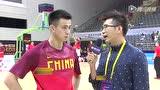 视频:赛前采访赵继伟 谈克服疲劳上场就要拼