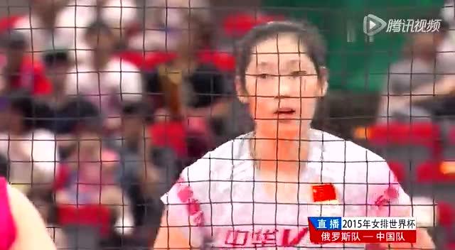 朱婷强攻袁心玥连续得分 为中国队打开局面截图