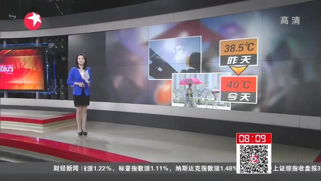北京高温橙色预警持续发布 气温创今年以来新高截图