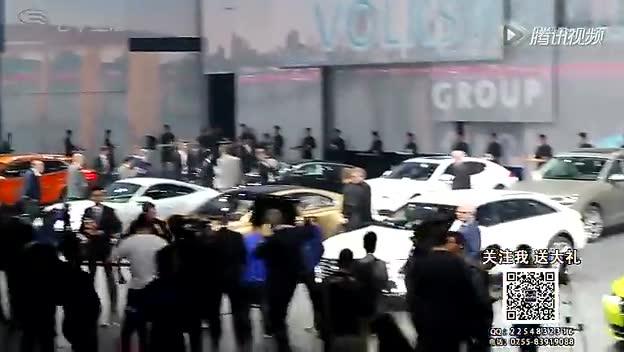 大众之夜 C COUPE GTE概念车大众之夜全球首发截图