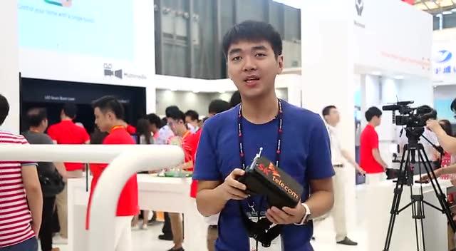 搞机零距离上海MWC番外篇:体感式VR虚拟现实玩滑雪截图
