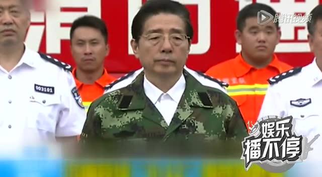 """天津爆炸事故""""头七""""祭   众星点蜡烛哀悼截图"""