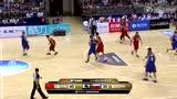 视频:郭艾伦速度惊人 弧顶突破左手上篮得分