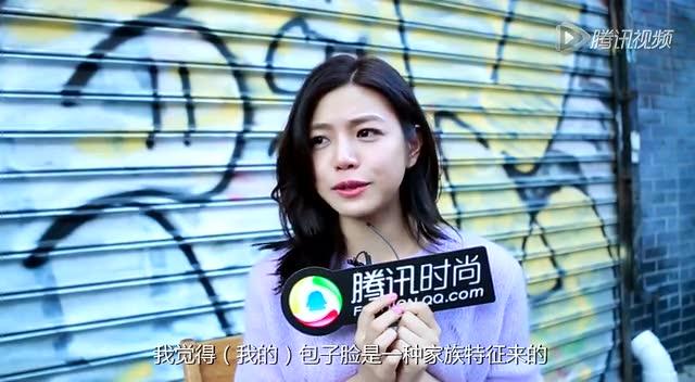 提鲜肉男友合不拢嘴!陈妍希传授包子脸女神5连拍截图