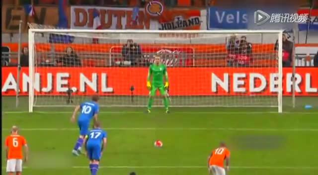 【集锦】荷兰0-1负冰岛 罗本伤退中超强援登场截图