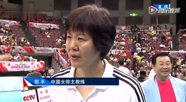 郎平赛后采访:盛赞袁心玥 明天战日本绝不会放松截图