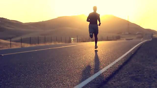 跑步高清风景图片