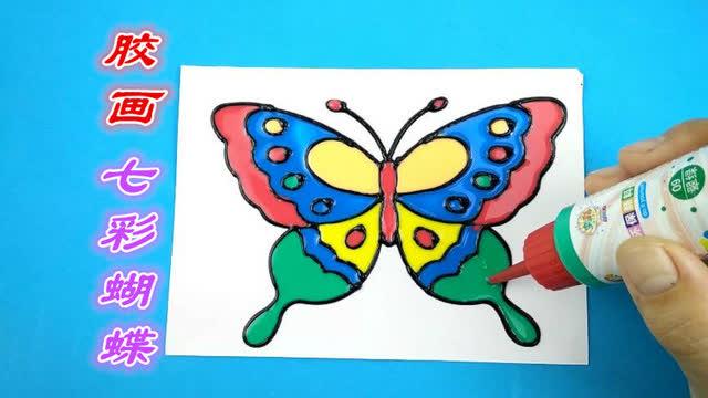 幼儿亲子手工制作蝴蝶