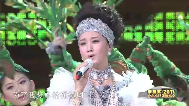 宋祖英,周华健跨界合唱《橄榄树》