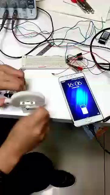diy手摇手机充电器