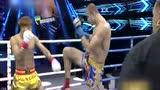 【集锦】重量级巨人对决 郝光华首回合惨遭TKO