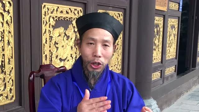 丙申长春观传戒 腾讯道学专访任宗权:所有道士都能来求戒吗?截图