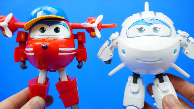 超级飞侠 大号变形玩具 新角色 淘淘与米莉