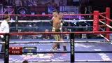 【集锦】李同辉霸气KO对手 印尼老将倒地不起
