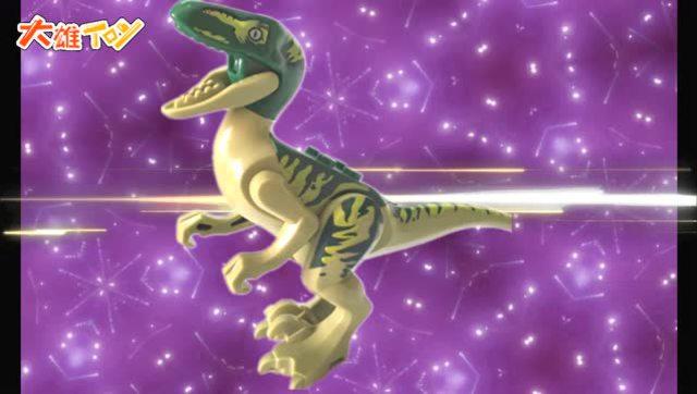 魔术气球恐龙教程图解