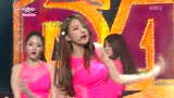 Dal★shabet - BE AMBITIOUS(13/06/28 KBS音乐银行LIVE)