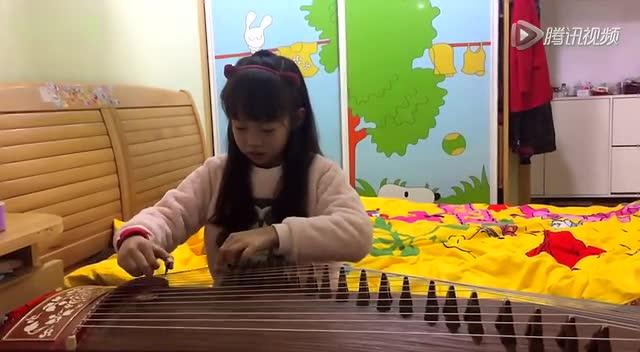 视频: 古筝曲《劳动最光荣》