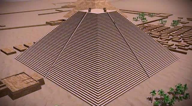 埃及金字塔建造方法的一种大胆猜想,你觉得靠谱吗?