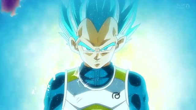 在贝吉塔刺激下成功变身 只要修炼得当就能变成蓝超
