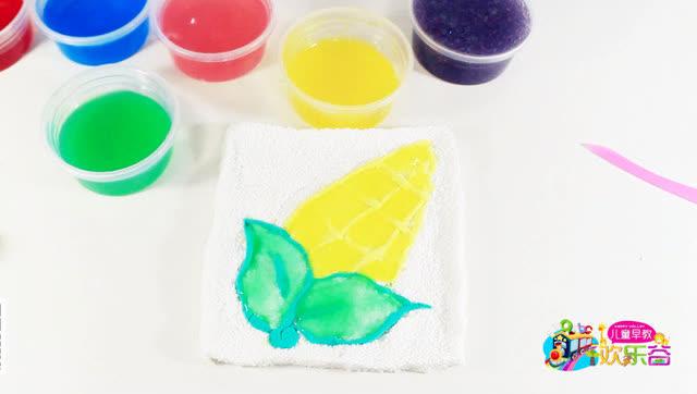 儿童早教欢乐谷亲子手工制作玉米
