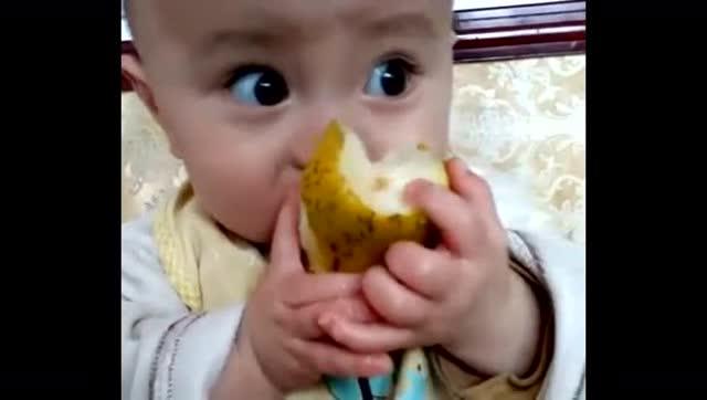超萌大眼睛宝宝,可爱的能掐出一汪水
