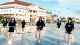 越南漂亮女生街头跳《Seve》鬼步舞,第2支舞蹈更赞!