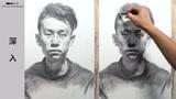 第九十六集 朱传奇男青年素描头像示范完全版 (86播放)